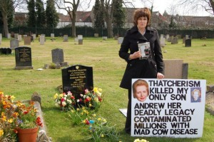 1 chrisitne grave thatcher killed my son