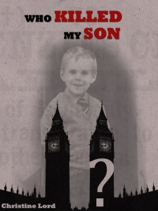 Book cover who killed my son by christine lord