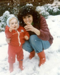 andrew mum snow aged 2 years